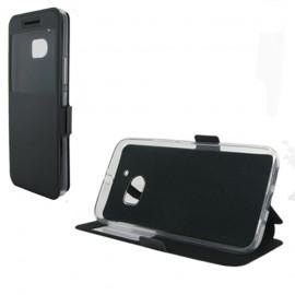 Etui HTC 10 folio vision noir