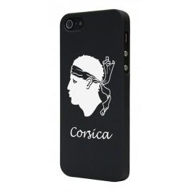 Coque iphone 5 / 5s / SE Corsica Noire
