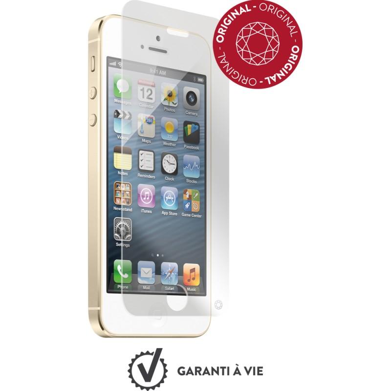 film iphone 5 5s se force glass en verre tremp destination telecom. Black Bedroom Furniture Sets. Home Design Ideas