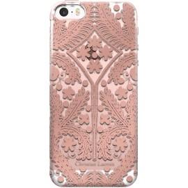 Coque iPhone 5 / 5S / SE Paseo métal rose de Christian Lacroix