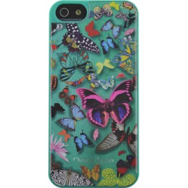 Coque iPhone 5 / 5S / SE Butterfly Parade Emeraude de Christian Lacroix