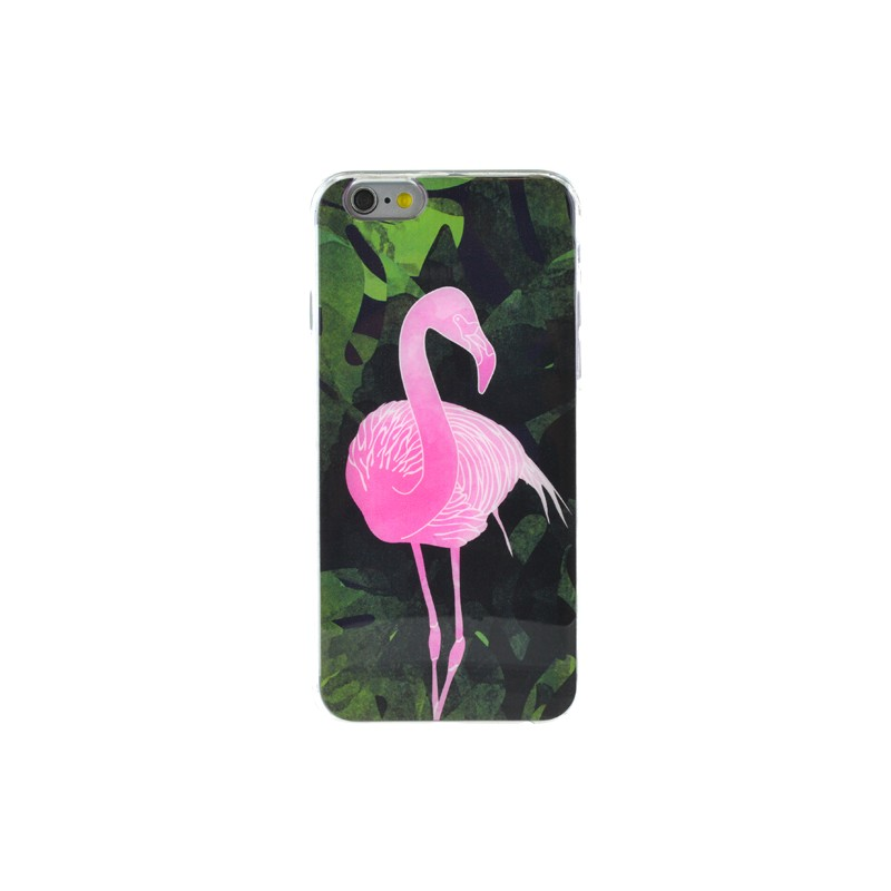 coque iphone 6 s flamant rose