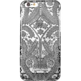 Coque iphone 6 / 6s Paseo métal de Christian Lacroix transparente et argentée