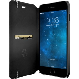 Etui iPhone 6 Plus / 6S Plus Folio Jais Jean Paul Gaultier