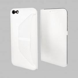 Etui iphone 6 / 6s folio blanc easy folio de Muvit