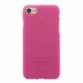 Coque iPhone 7 plus silicone rose