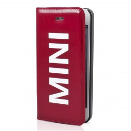 Etui folio iPhone 5 / 5S / SE MINI Vinyl Rouge