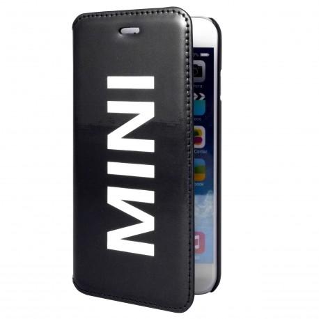 Etui folio iPhone 6 / 6s MINI Vinyl Noir