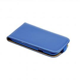 Etui iPhone 7 flip bleu