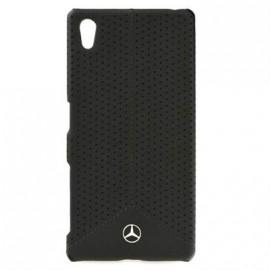 Coque Sony Xperia z5 Mercedes micro perforée noire