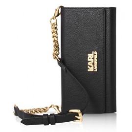 Etui iPhone 6 / 6S Karl Lagerfeld Grainy Clutch noir