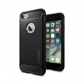 Coque iPhone 7 Spigen Rugged Armor noire