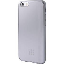 Coque iPhone 5 / 5S / SE Moleskine grise métallisée