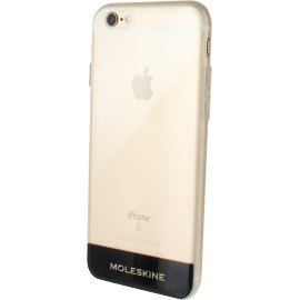 Coque iPhone 6 / 6S rigide Moleskine transparente