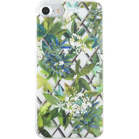 Coque iPhone 7 Christian Lacroix Canopy blanc vert
