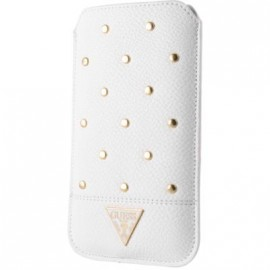 Pouch universel Guess blanc taille L collection Studded