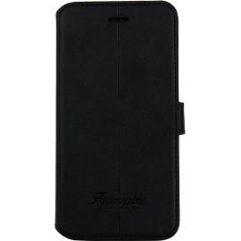 Etui iPhone 7 Façonnable folio Liseré noir