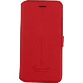 Etui iPhone 7 Façonnable folio Liseré rouge