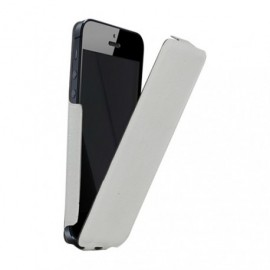 Etui iphone 5 / 5S / SE slim blanc