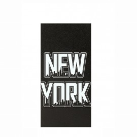 Etui iPhone 5 / 5s / SE folio noir motif New York