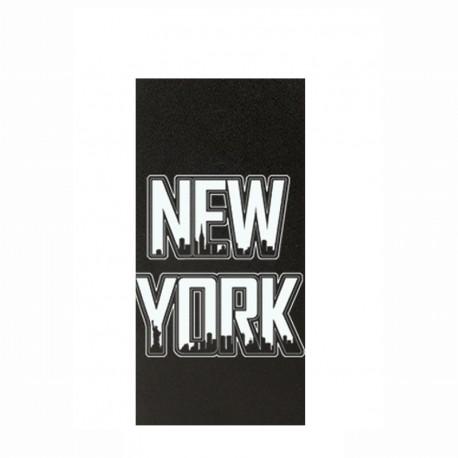 Etui iPhone 5 / 5s / SE folio noir motif New York