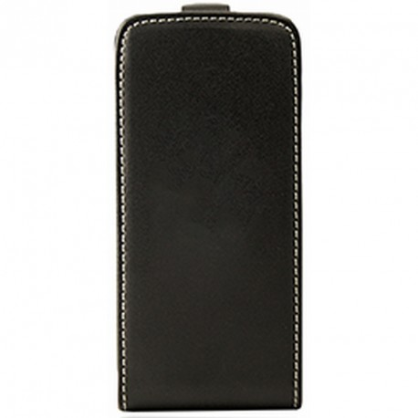 Etui Iphone 5 / 5s / SE flip noir