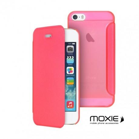 Etui iphone 5 / 5s / SE folio cover ultra fin de moxie