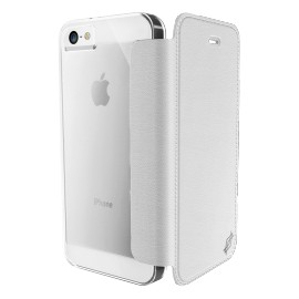 Etui iphone 5 / 5s / SE XDORIA Engage Folio Blanc