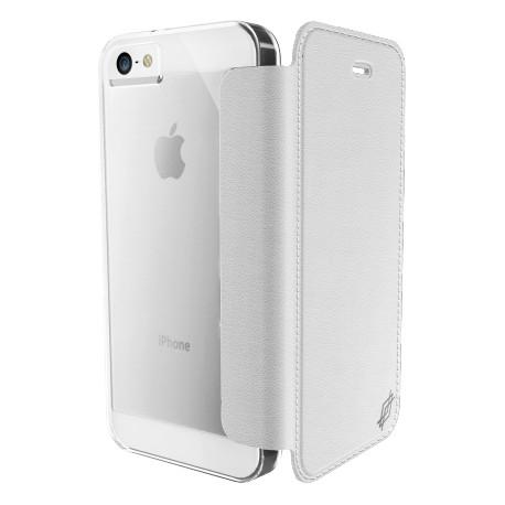 Etui iphone 5 / 5s / SE XDORIA Engage Folio Blanc
