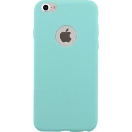 Coque iPhone 7 semi-rigide bleu clair de Bigben