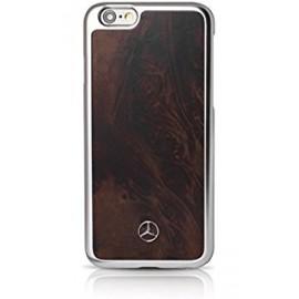 COQUE APPLE IPHONE 6 plus / 6S plus MERCEDES Natural wood brun