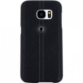 Coque Samsung Galaxy S7 Edge G935 Façonnable bouton laqué noir