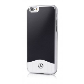 COQUE APPLE IPHONE 6 / 6S MERCEDES Brushed Aluminium