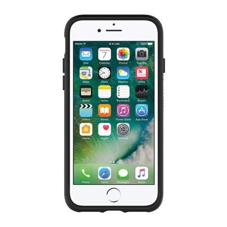 Coque iPhone 7 Otter Box Symmetry transparente à bordure noire