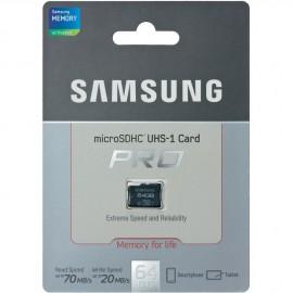 Carte Micro SD 64Go origine Samsung