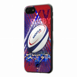 Coque iphone 7 Crystal Rugby