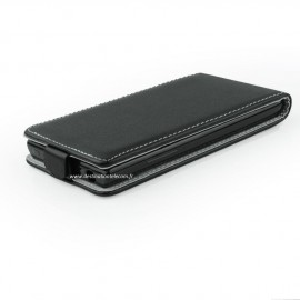 Etui Lenovo S60 Flip noir