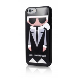 Coque iPhone 6 / 6s Karl Largerfeld K-Kocktail noir