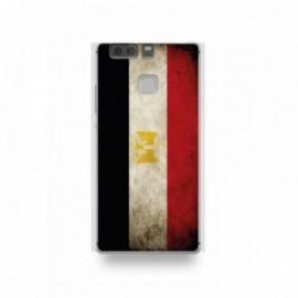 Coque Huawei P9 Silicone motif Drapeau Égypte Vintage
