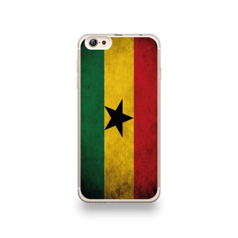 coque iphone 6 plus 6s plus silicone motif drapeau ghana vintage destination telecom. Black Bedroom Furniture Sets. Home Design Ideas