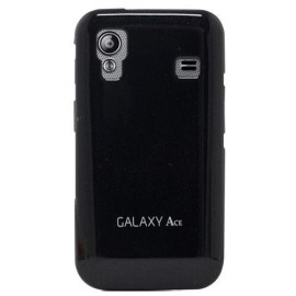 Coque galaxy ace s5830 noire glossy