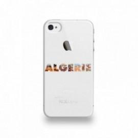 Coque  iPhone 4/4S Silicone motif Algérie