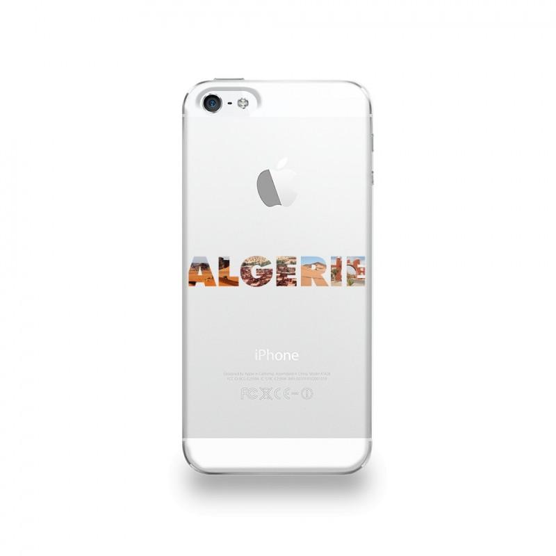 coque iphone 5 5s se silicone motif algerie