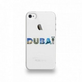 Coque  iPhone 4/4S Silicone motif Dubaï