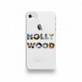 Coque  iPhone 4/4S Silicone motif Hollywood