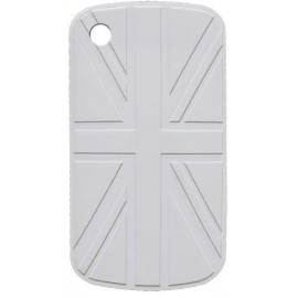 Coque UK Blackberry 8520 / 9300 blanche