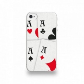 Coque  iPhone 4/4S Silicone motif Les Quads