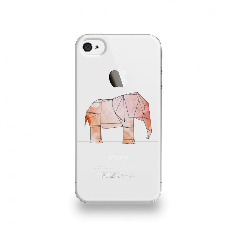 coque iphone 4 elephant