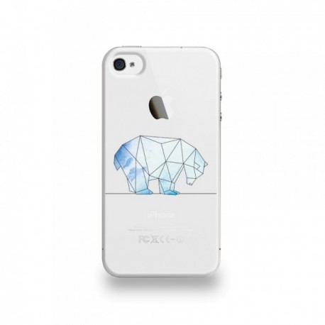 coque iphone 4 silicone ours