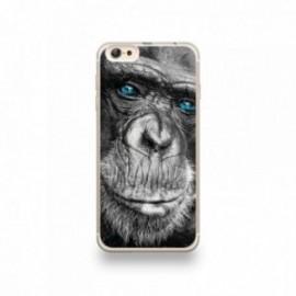 Coque iPhone 6 plus / 6S plus Silicone motif Gorille aux Yeux Bleus